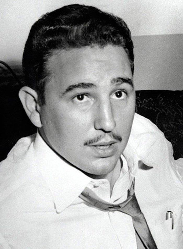 Портреты мировых лидеров Фидель Кастро