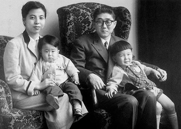 Портреты мировых лидеров Синдзо Абэ