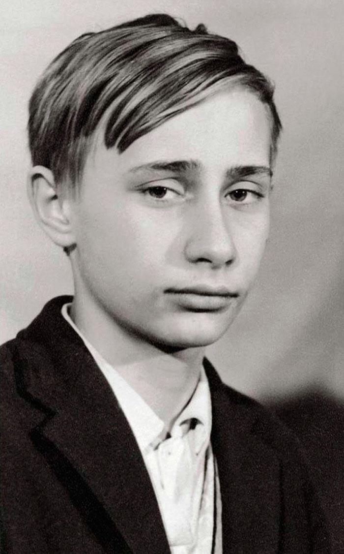 Портреты мировых лидеров Владимир Путин