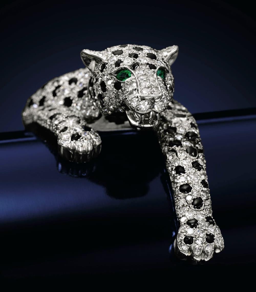 Самые дорогие украшения в мире Браслет пантера Уоллис Симпсон