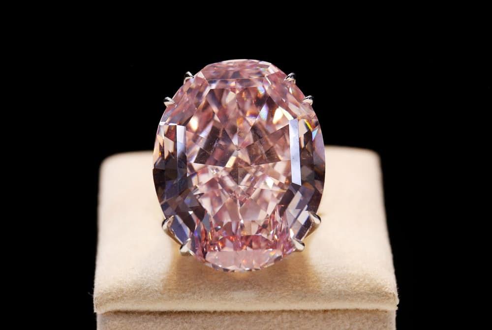 Самые дорогие украшения в мире Кольцо «Розовая звезда»