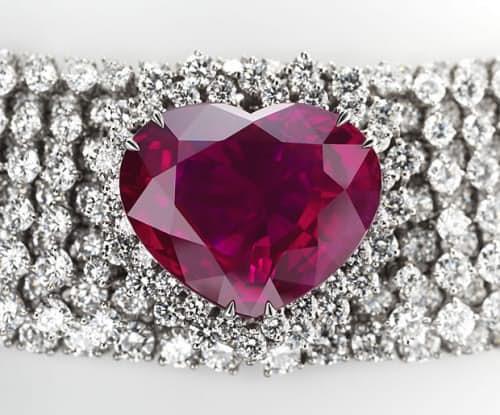 Самые дорогие украшения в мире Рубиновое ожерелье «Сердце королевства»