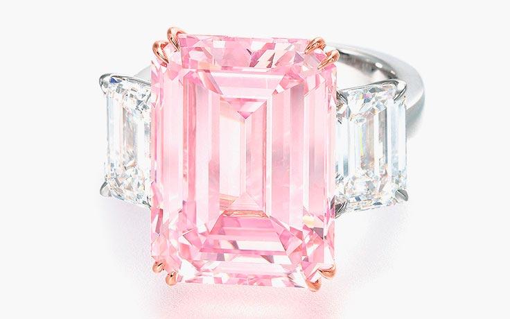 Самые дорогие украшения в мире The Perfect Pink Diamond