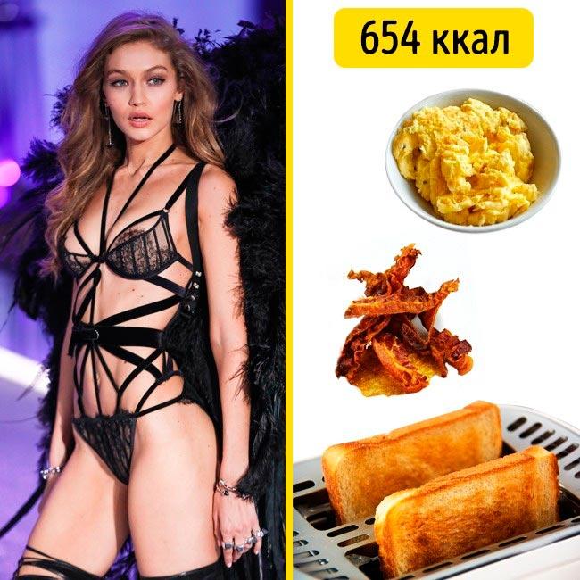 10 завтраков, которые помогают моделям поддерживать форму Джиджи Хадид