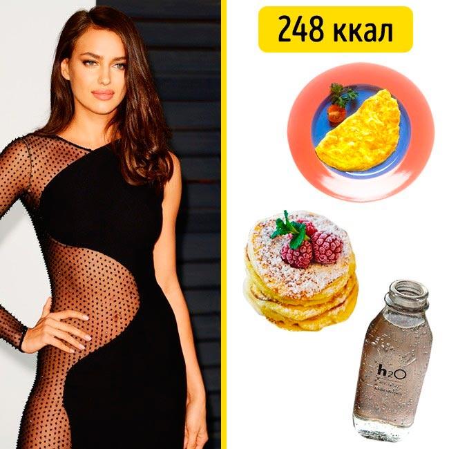 10 завтраков, которые помогают моделям поддерживать форму Ирина Шейк