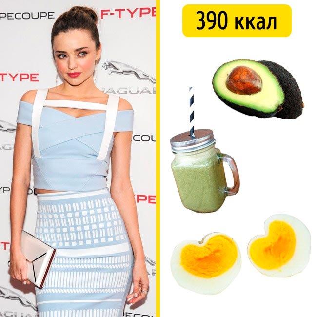 10 завтраков, которые помогают моделям поддерживать форму Миранда Керр
