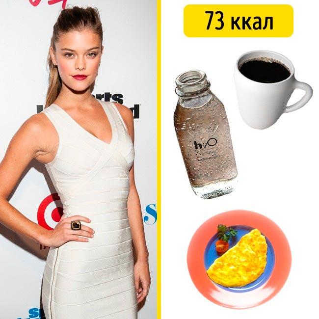 10 завтраков, которые помогают моделям поддерживать форму Нина Агдал