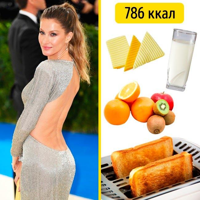 10 завтраков, которые помогают моделям поддерживать форму Жизель Бюндхен