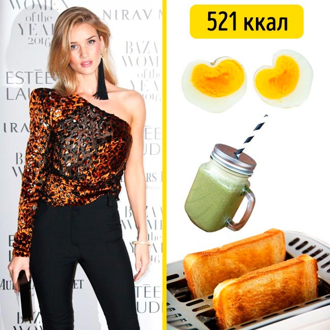 10 завтраков, которые помогают моделям поддерживать форму Роузи Хантингтон-Уайтли