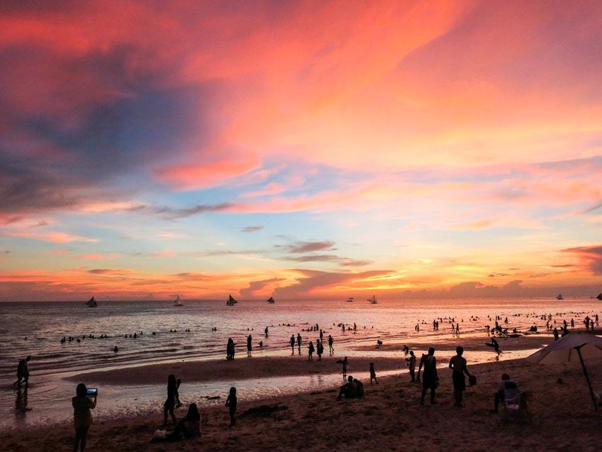 Азия: лучшие пляжи Белый пляж, Боракай