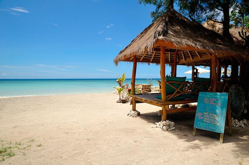 Азия: лучшие пляжи Острова Гили, Индонезия