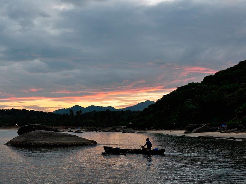 Азия: лучшие пляжи Пляж Агонда, Гоа