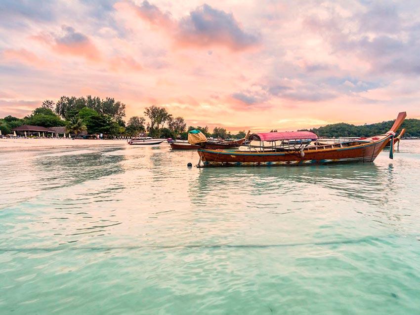 Азия: лучшие пляжи Сансет-Бич, Ко-Липе, Таиланд