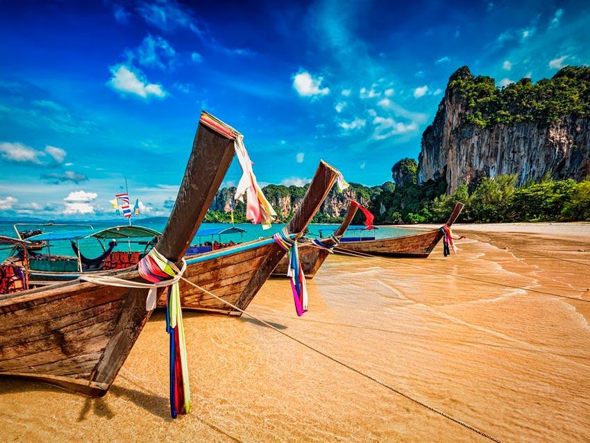 Азия: лучшие пляжи Рейли-Бич, Краби, Таиланд