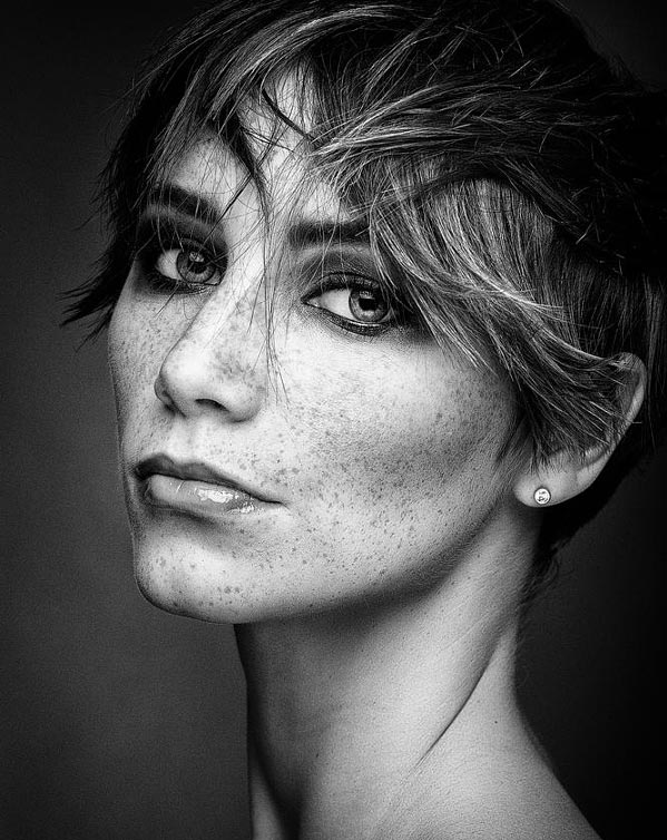 35 потрясающих чёрно-белых портретов