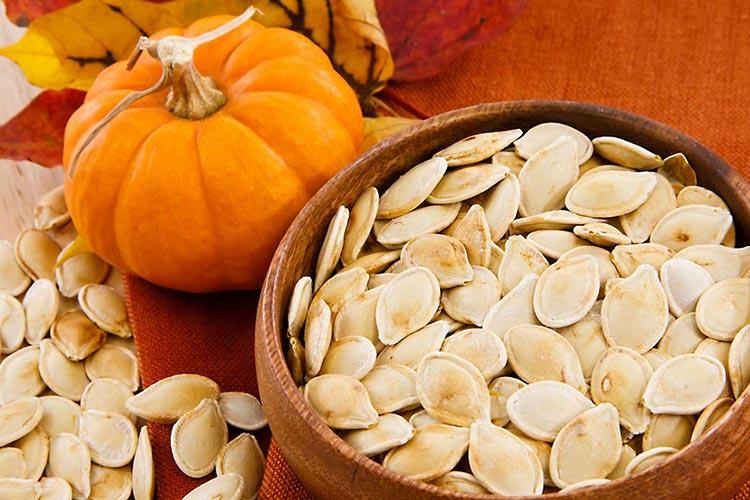 Полезные продукты для мозга Семена тыквы