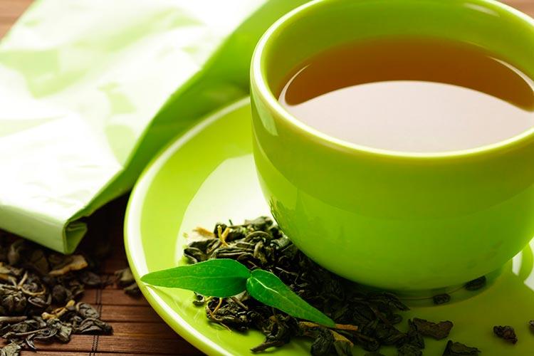 Полезные продукты для мозга Зеленый чай