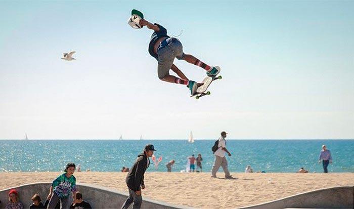 10 модных фич в жизни современного человека Скейтбординг