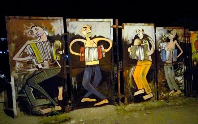 Крутые и необычные граффити