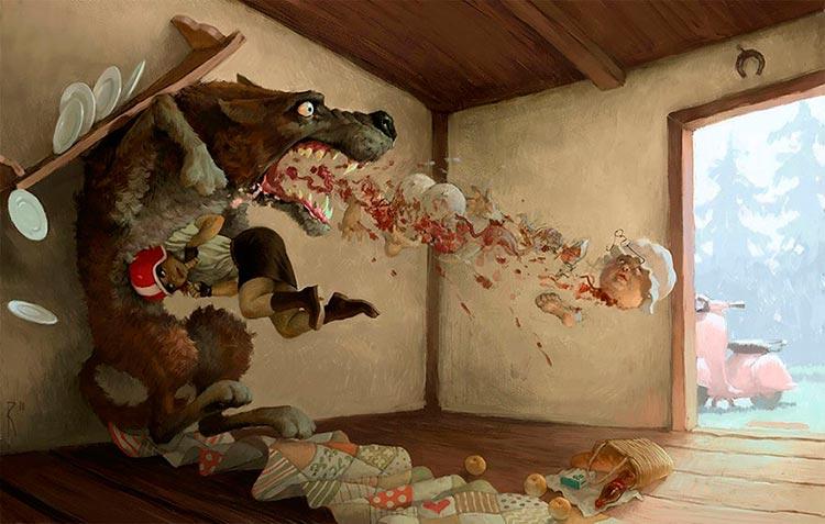 Спорные иллюстрации, полные скрытого смысла Вальдемар Казак
