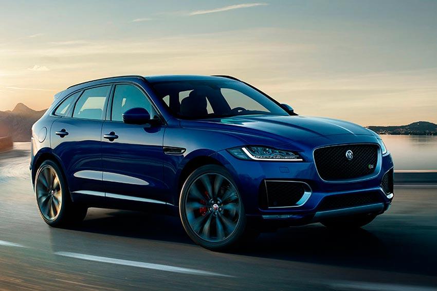 Электромобили, на которых мир будет ездить к 2020 году Jaguar F-Pace
