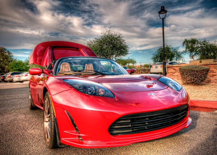 Электромобили, на которых мир будет ездить к 2020 году Tesla Roadster