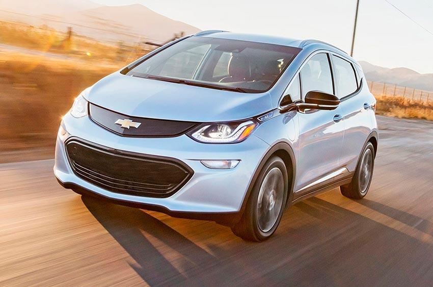 Электромобили, на которых мир будет ездить к 2020 году Chevroler Bolt EV