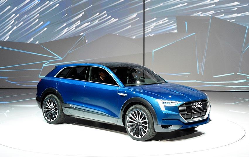 Электромобили, на которых мир будет ездить к 2020 году Audi Е-Tron
