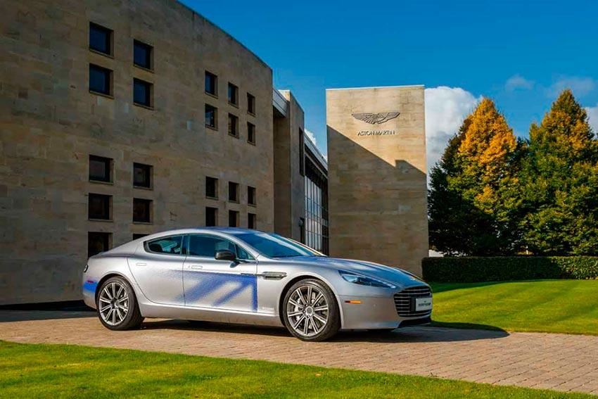 Электромобили, на которых мир будет ездить к 2020 году Aston Martin Rapide