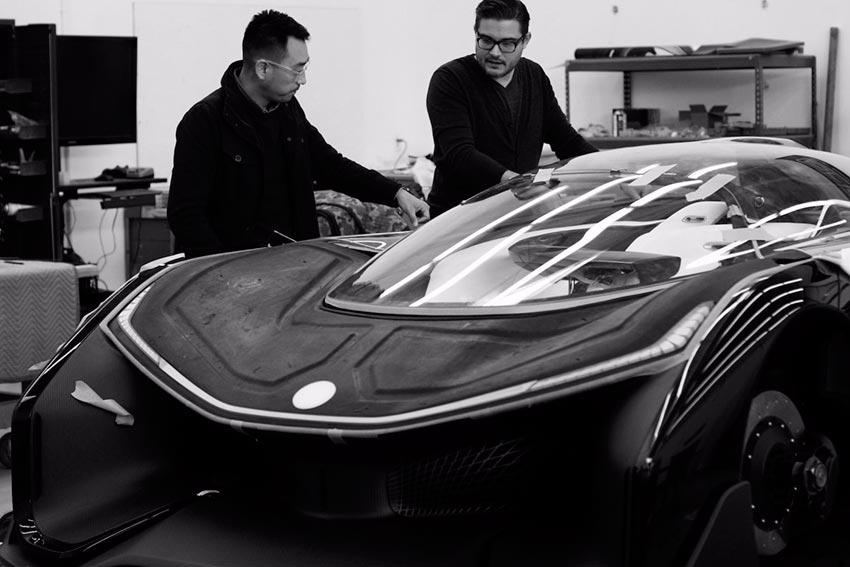 Электромобили, на которых мир будет ездить к 2020 году Faraday Future