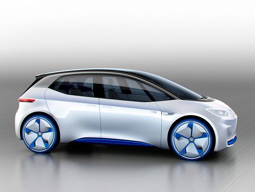 Электромобили, на которых мир будет ездить к 2020 году Volkswagen ID