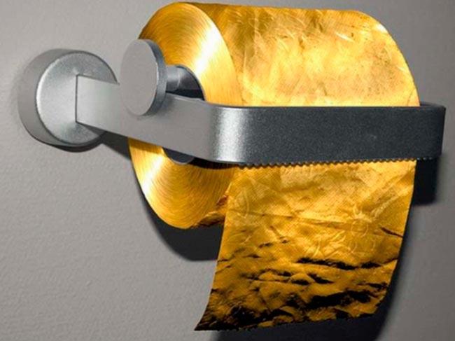 Обычные вещи, которые стоят очень дорого Туалетная бумага