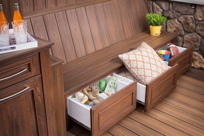 20 примеров самодельной деревянной садовой мебели