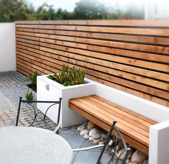 20 примеров самодельной садовой мебели конструкция