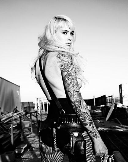 Прекрасные девушки с татуировками