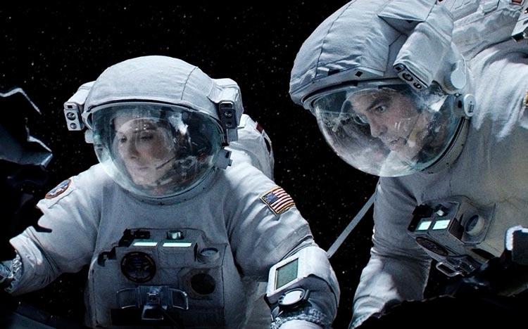 11 блестящих фильмов с двумя актёрами Гравитация Gravity