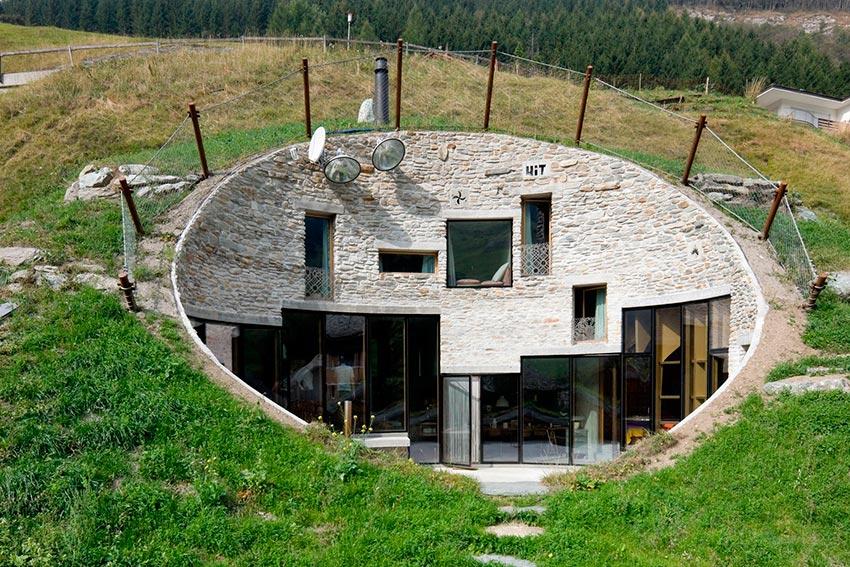 удивительные дома, спрятанные от посторонних глаз