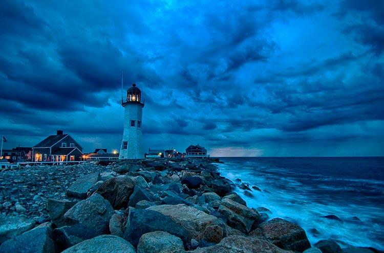 Самые красивые маяки мира Ситуэйта, Массачусетс, США