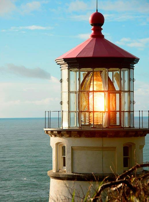 Самые красивые маяки мира Хесета-Хед, США