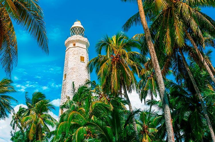 Самые красивые маяки мира Дондра на мысе Дондра, Шри-Ланка