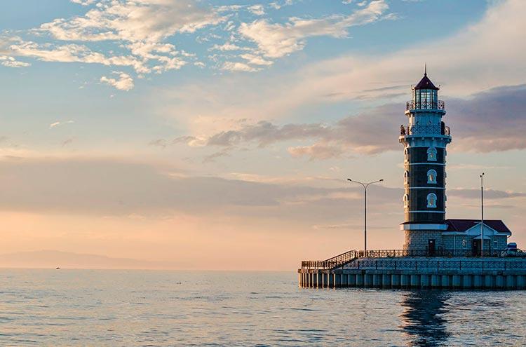 Самые красивые маяки мира на озере Байкал, Россия