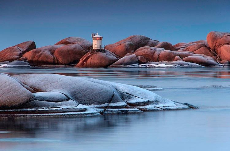 Самые красивые маяки мира в городе Люсечиль, Швеция