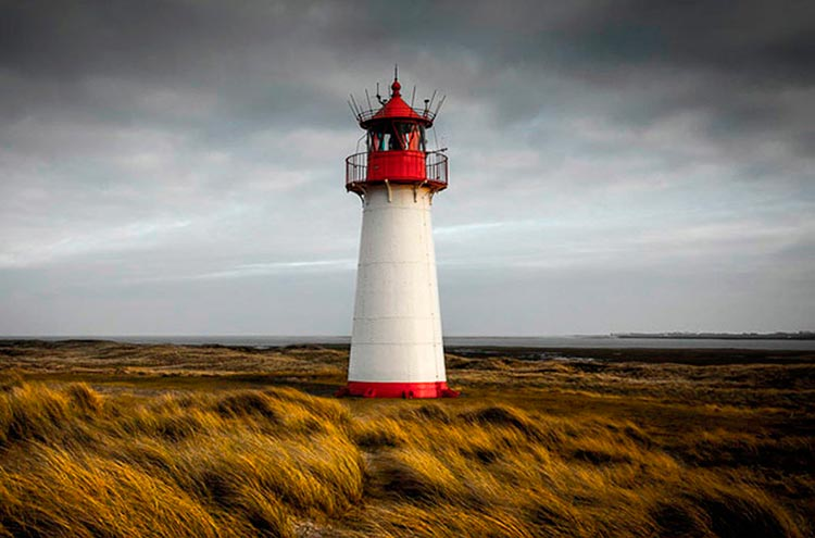Самые красивые маяки мира в провинции Шлезвиг-Гольштейн, Германия