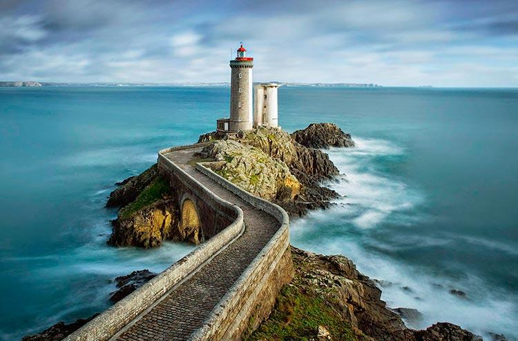 Самые красивые маяки мира в городе Брест, Франция