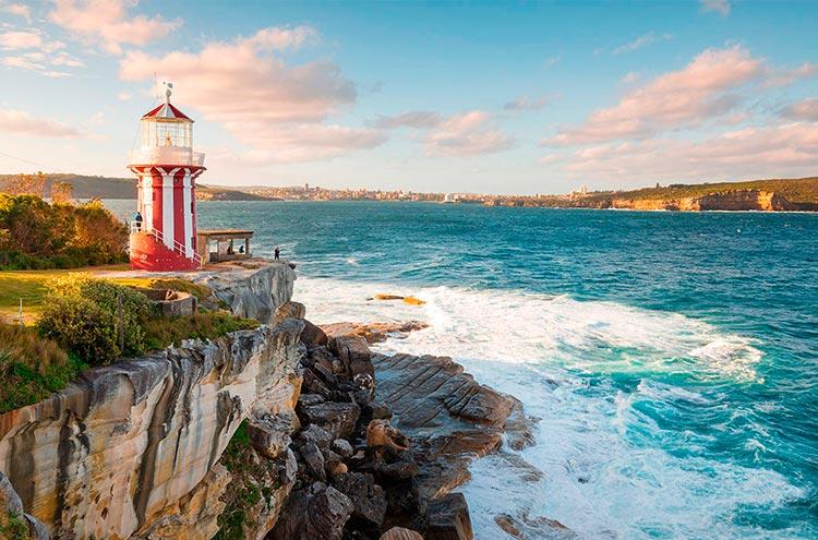 Самые красивые маяки мира Хорнби, Австралия