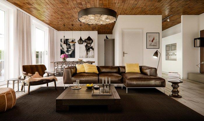 Основные дизайнерские тенденции гостиных