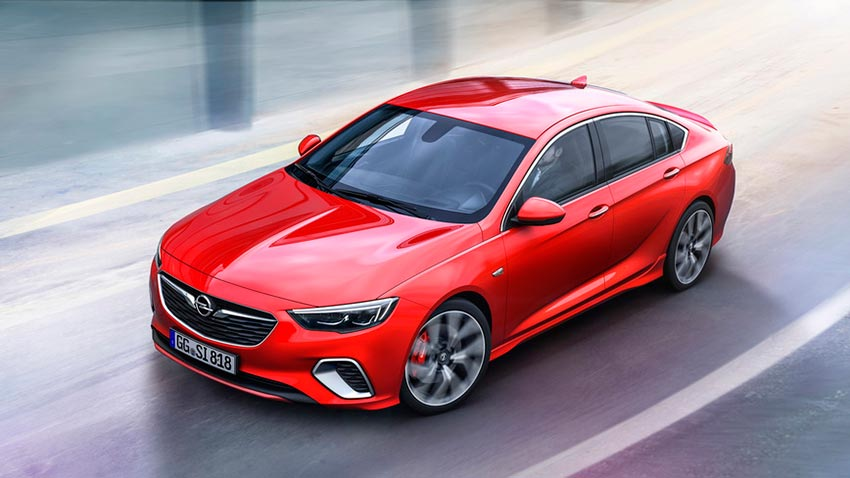 Opel Insignia GSi с 252 лошадиными силами