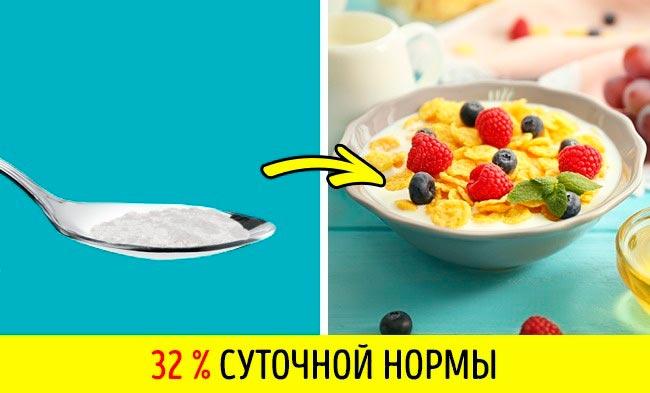 11 продуктов, в которых больше соли, чем вы думаете Кукурузные хлопья