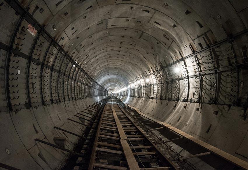 «Мичуринский проспект»: как строится первая полуподземная станция