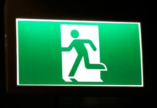 Известные символы и их значения Знак выхода